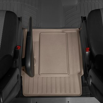 WeatherTech® - DigitalFit™ Center Aisle Tan Molded Floor Liner