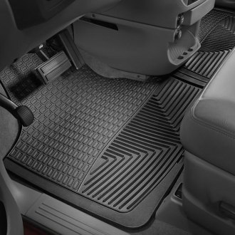 WeatherTech® - All-Weather 1st Row Black Floor Mats
