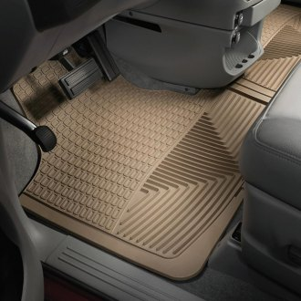WeatherTech® - All-Weather 1st Row Tan Floor Mats