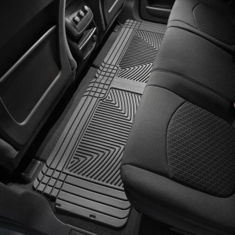 WeatherTech® - All-Weather 2nd Row Black Floor Mats