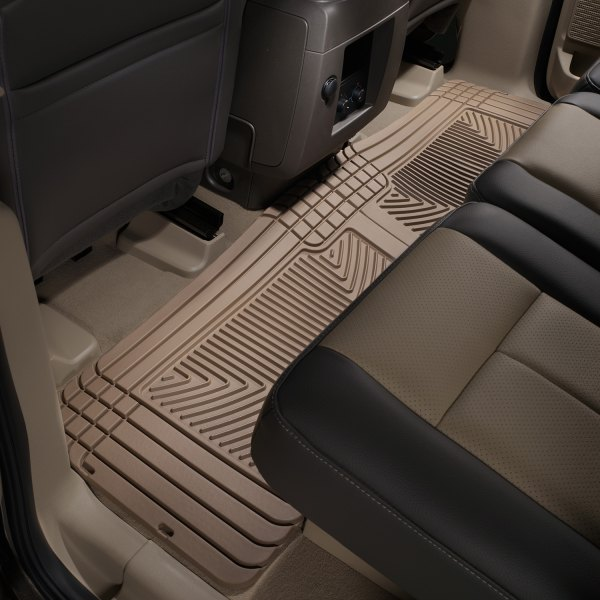 Weathertech 174 W25tn All Weather 2nd Row Tan Floor Mats