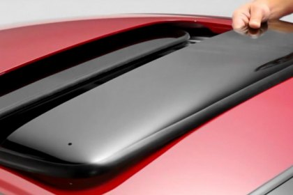 WeatherTech® - Sunroof Window Deflectors Installation Video