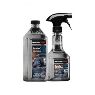 WeatherTech® - TechCare™ Tire Gloss with Cross-Link Action™ - Bottle with Refill