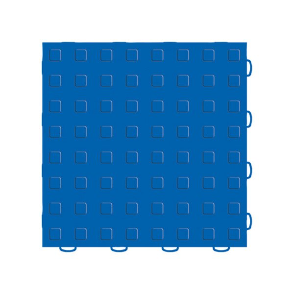 "WeatherTech® - TechFloor™ (12"" x 12"" Blue / Blue Square Floor Tile)"