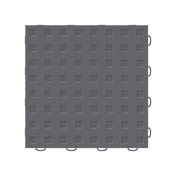 "WeatherTech® - TechFloor™ (12"" x 12"" Dark Gray / Dark Gray Square Floor Tile)"