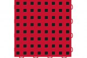 "WeatherTech® - 12"" x 12"" Red / Black Tiles"
