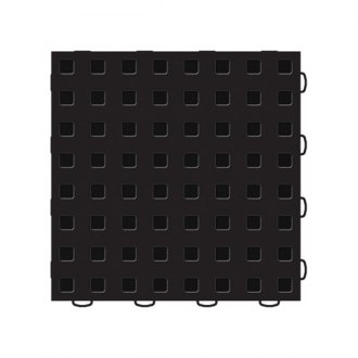 WeatherTech® - TechFloor™ 12 x 12 Black Solid With Raised Squares