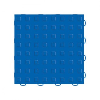 WeatherTech® - TechFloor™ 12 x 12 Blue Solid Floor Tile With Raised Squares