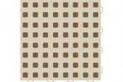 "WeatherTech® - TechFloor™ (12"" x 12"" Tan / Md. Brown Square Floor Tile)"