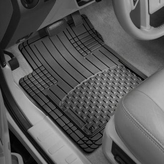 WeatherTech® - AVM™ 1st & 2nd Row Full Coverage Black Floor Mats