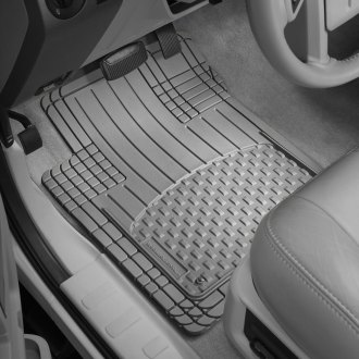 WeatherTech® - AVM™ 1st & 2nd Row Footwell Coverage Gray Floor Mats