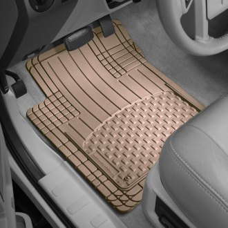 WeatherTech® - AVM™ 1st & 2nd Row Full Coverage Tan Floor Mats