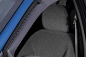 WeatherTech® - Side Wind Deflectors - Front, Light Smoke