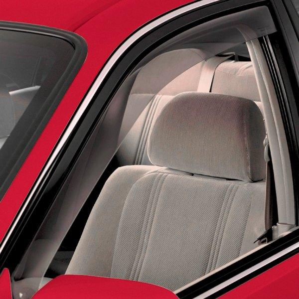 Weathertech honda accord 2002 light smoke side window for 2002 honda civic rear window visor