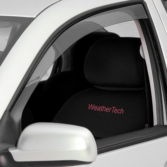 WeatherTech® - Light Smoke Front Side Window Deflectors