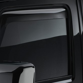 WeatherTech® - Window Deflectors - Front, Light Smoke