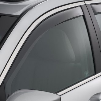 WeatherTech® - Light Smoke Front Window Deflectors