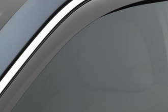 WeatherTech® 70516 - Light Smoke Front Side Window Deflectors