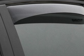 WeatherTech® 71248 - Light Smoke Rear Side Window Deflectors