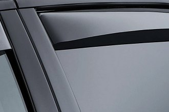 WeatherTech® - Light Smoke Rear Side Window Deflectors