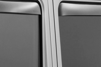 WeatherTech® 72310 - Light Smoke Front and Rear Side Window Deflectors