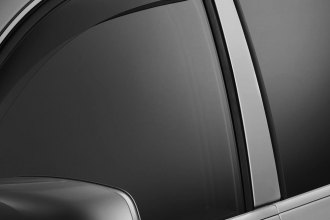 WeatherTech® 72335 - Light Smoke Front and Rear Side Window Deflectors