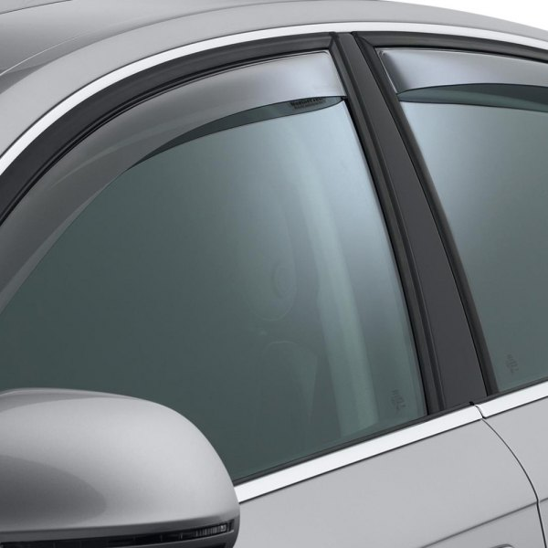 WeatherTech® - Light Smoke Front and Rear Window Deflectors