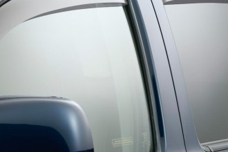 WeatherTech® 72389 - Light Smoke Front and Rear Side Window Deflectors