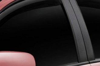 WeatherTech® 72423 - Light Smoke Front and Rear Side Window Deflectors
