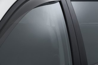 WeatherTech® 72460 - Light Smoke Front and Rear Side Window Deflectors