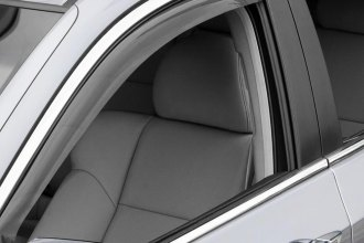 WeatherTech® - Light Smoke Front and Rear Side Window Deflectors