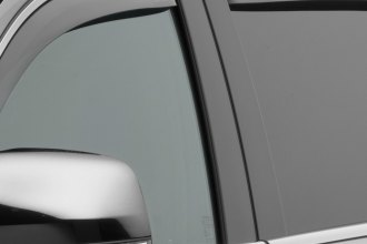 WeatherTech® 72562 - Light Smoke Front and Rear Side Window Deflectors