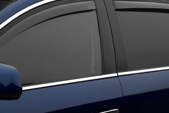WeatherTech® 74358 - Light Smoke Front and Rear Side Window Deflectors