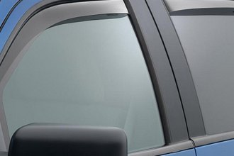 WeatherTech® 74697 - Light Smoke Front and Rear Side Window Deflectors
