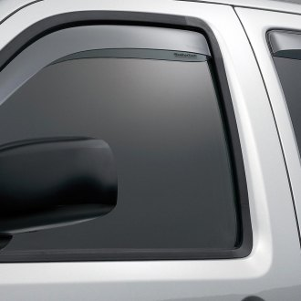 WeatherTech® - Window Deflectors - Front and Rear, Light Smoke