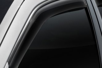 WeatherTech® 80349 - Dark Smoke Front Window Deflectors