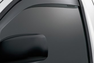 WeatherTech® 80367 - Dark Smoke Front Side Window Deflectors