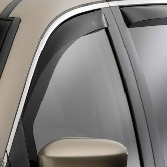 WeatherTech® - Window Deflectors - Front, Dark Smoke