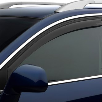 WeatherTech® - Dark Smoke Front Window Deflectors