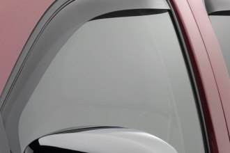 WeatherTech® 80426 - Dark Smoke Front Side Window Deflectors