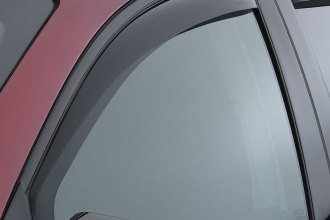 WeatherTech® 80457 - Dark Smoke Front Side Window Deflectors
