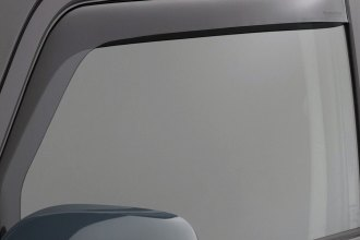 WeatherTech® 80469 - Dark Smoke Front Side Window Deflectors
