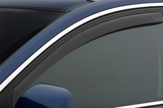 WeatherTech® 80490 - Dark Smoke Front Side Window Deflectors