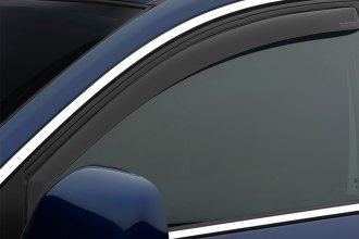 WeatherTech® 80501 - Dark Smoke Front Side Window Deflectors
