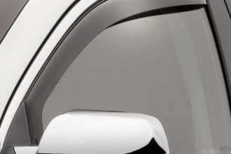 WeatherTech® 80520 - Dark Smoke Front Side Window Deflectors