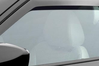 WeatherTech® 80553 - Dark Smoke Front Side Window Deflectors