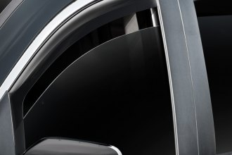 WeatherTech® 80556 - Dark Smoke Front Window Deflectors