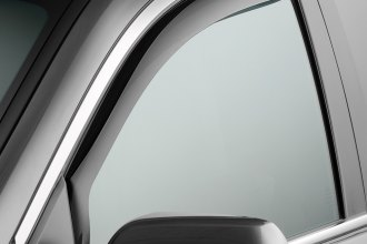 WeatherTech® 80710 - Dark Smoke Front Side Window Deflectors