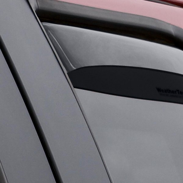 WeatherTech® - Window Deflectors - Rear, Dark Smoke