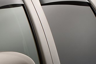WeatherTech® 81426 - Dark Smoke Rear Side Window Deflectors